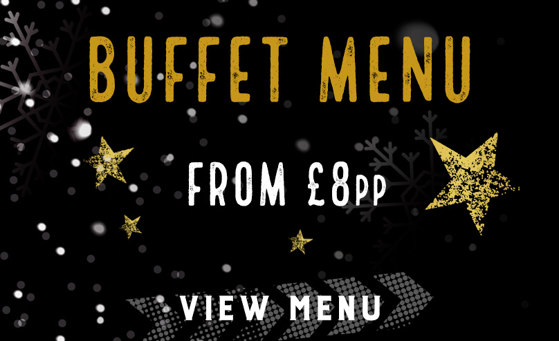 Festive buffet menu at Beekeepers