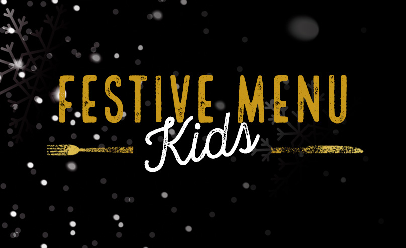 Festive Kids Menu at Beekeepers