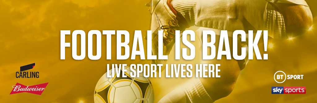 Watch live football at Beekeepers