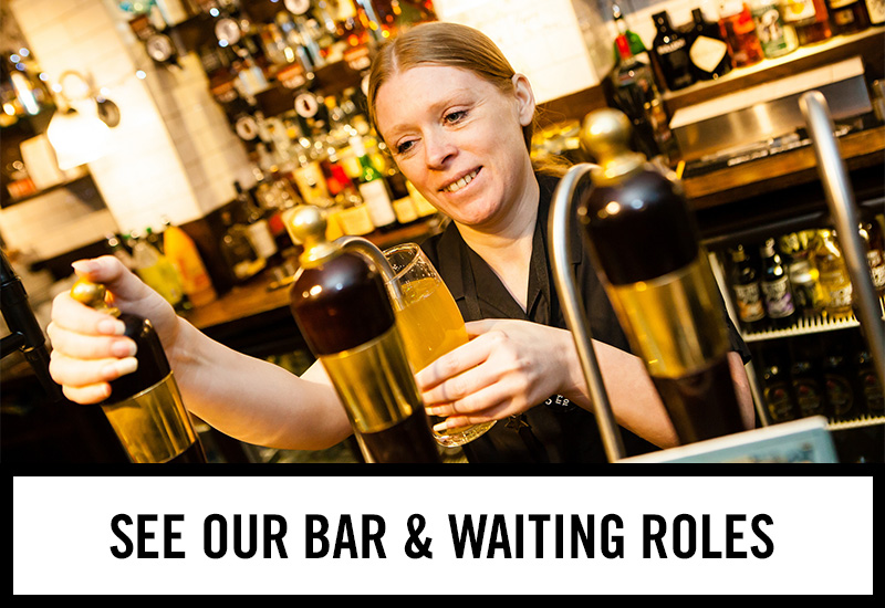 Bar roles at Beekeepers