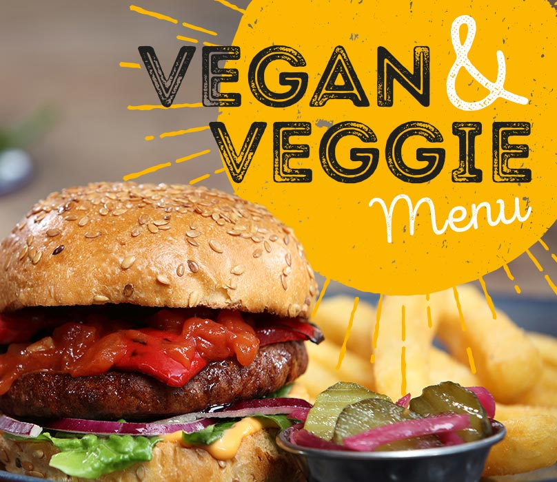 Vegan and Veggie Menu